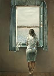 Dalí - Ragazza alla finestra