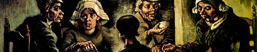 Van Gogh - I mangiatori di patate